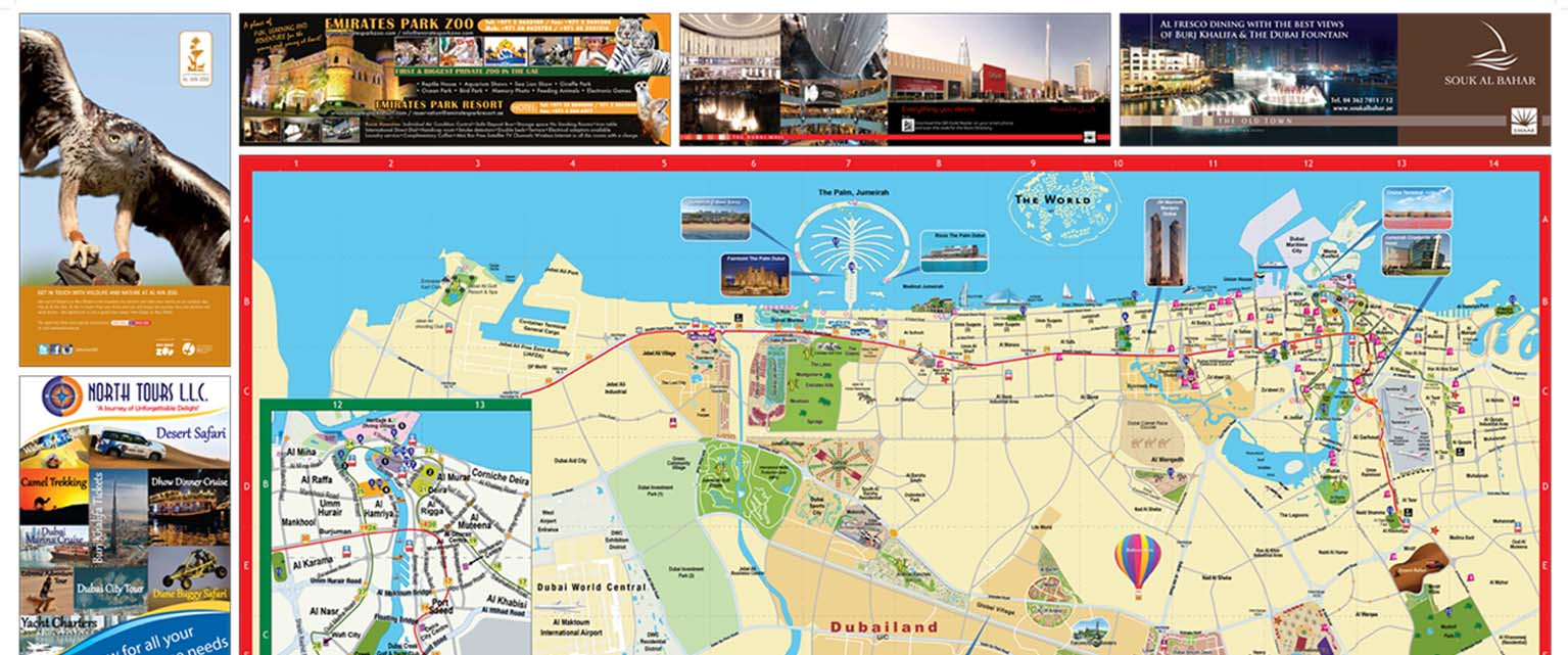 Dubai a glance easy map uaes largest mapping solution provider dubai at a glance gumiabroncs Image collections