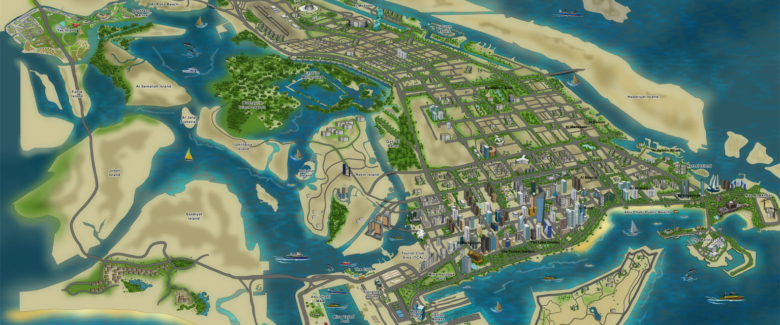 Customized Maps Easy Map UAEs Largest Mapping solution provider