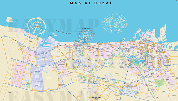 Gallery easy map uaes largest mapping solution provider dubai map gumiabroncs Choice Image