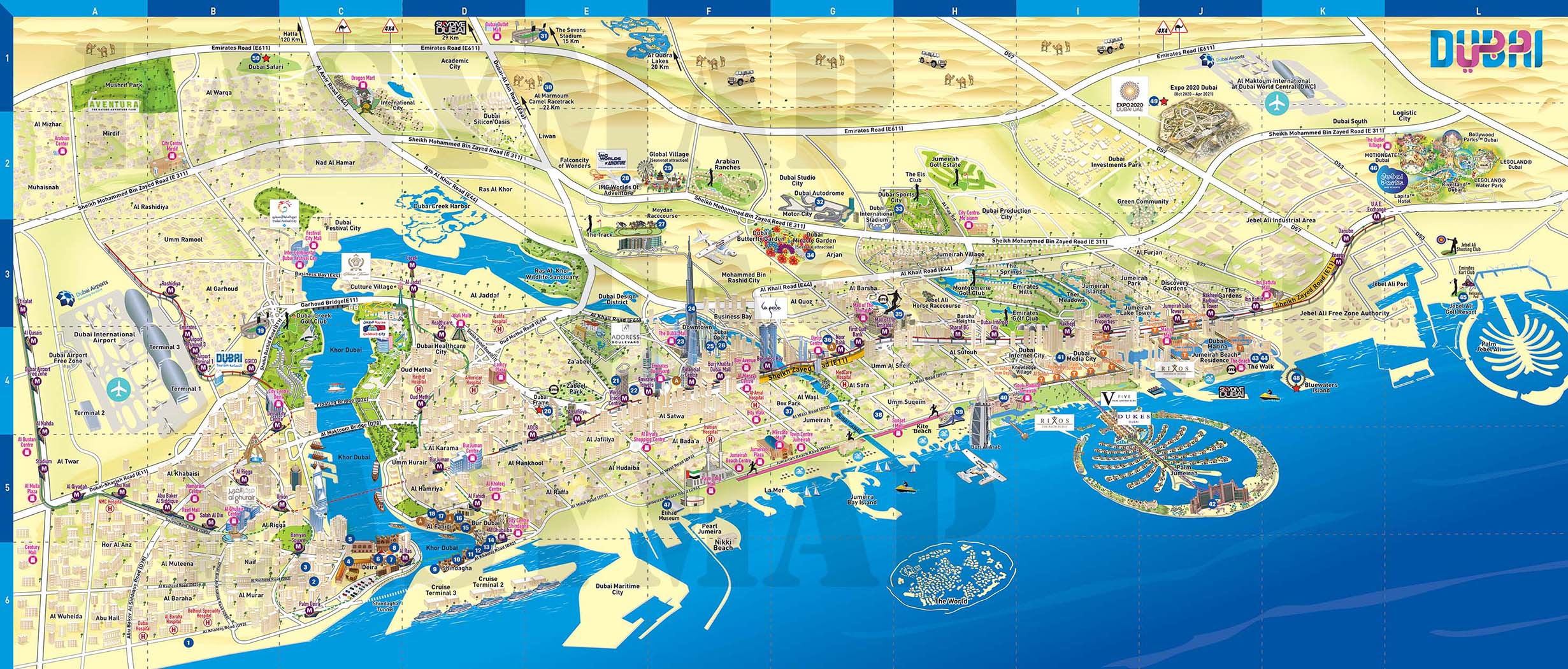 DTCM Map New