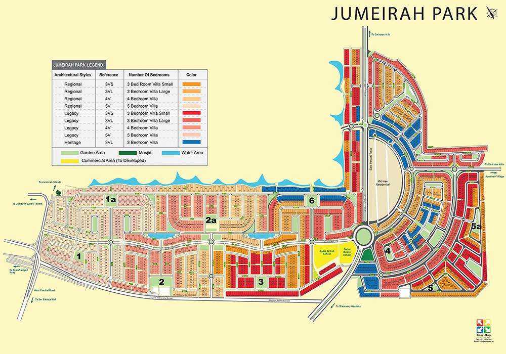 Jumeirah Park_73x52cm