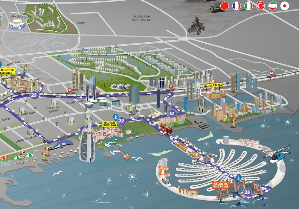 Tour map 2