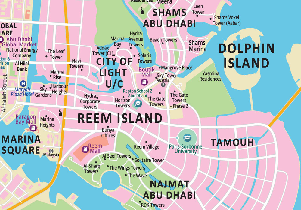 abu dhabi map_zoom2