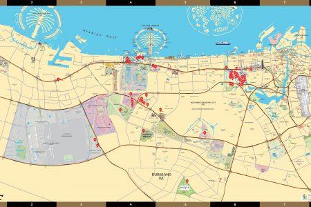 Damac Project 2D Map