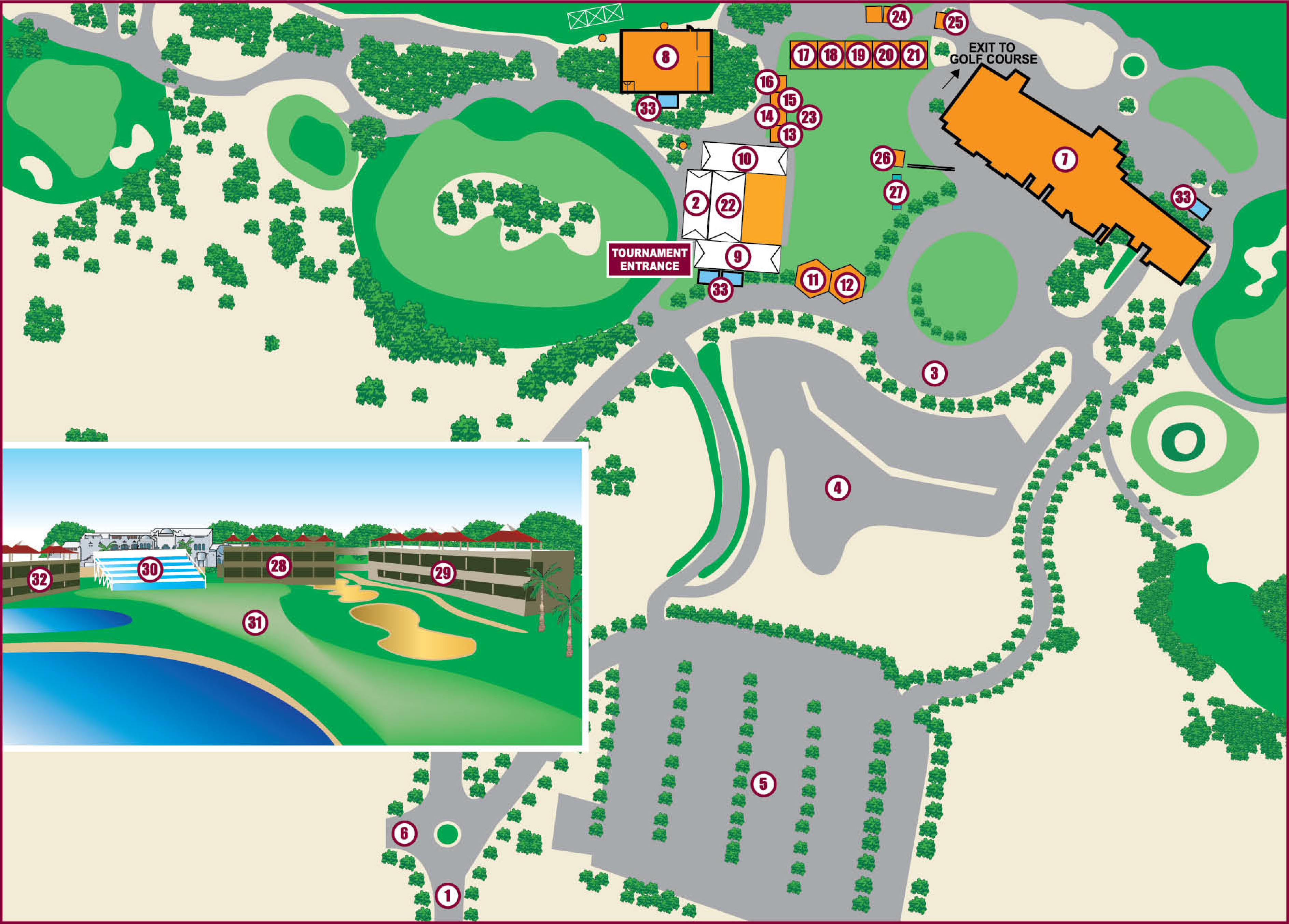 Golf Course map2