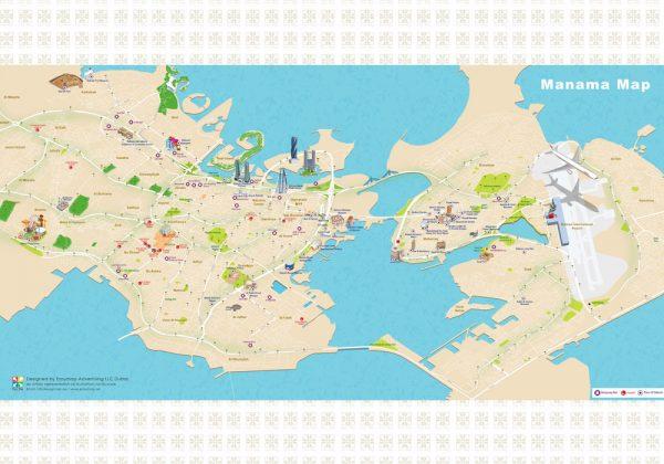 Manama 3D Map