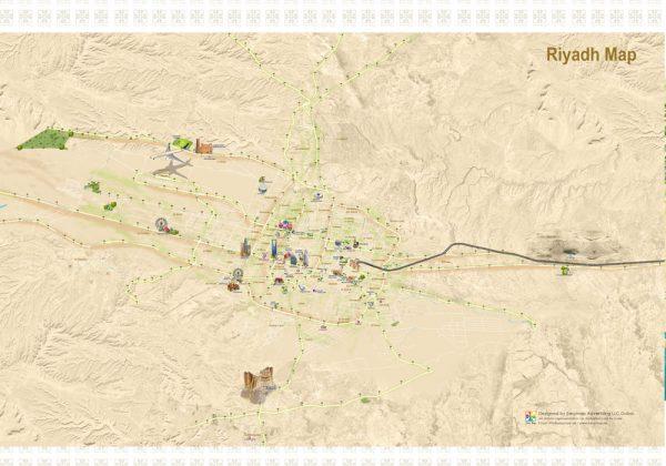 Riyadh 3D Map