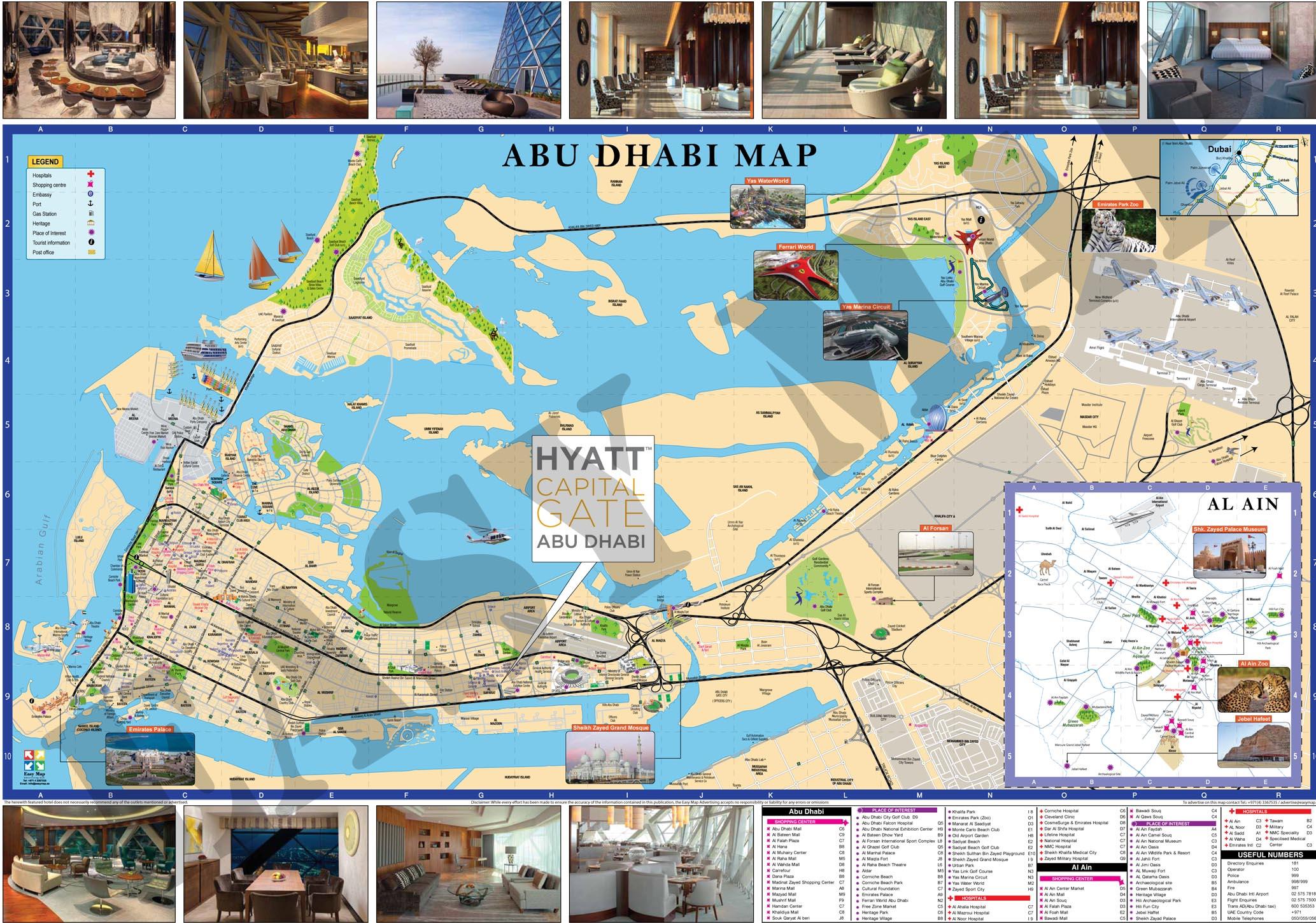 Hyatt Map